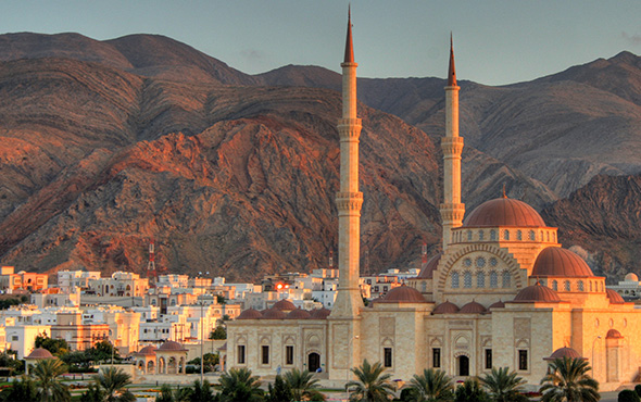 Middle East Oman Muscat Grand Mosque