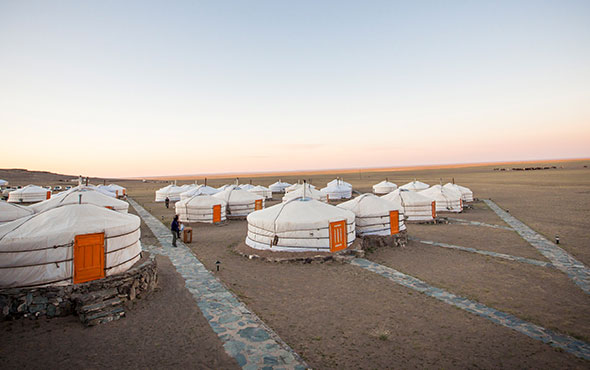Luxury Accommodations - Mongolia