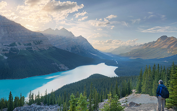 North America Canadian Rockies Solo Travel