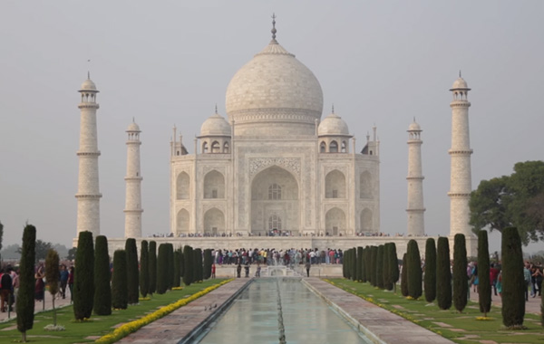 India Taj Mahal Video Thumbnail